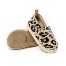 Pretty Brave Baby Shoes - Espadrille in Leopard