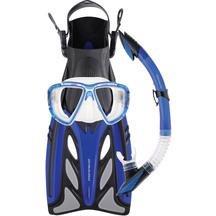 Mirage FSet43 Crystal Adult Mask, Snorkel & Fin Set