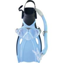 Mirage Fset 25 Squirt Junior Mask, Snorkel & Fin Set