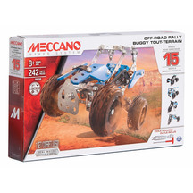 Meccano 15 Model Set - Off-Road Rally