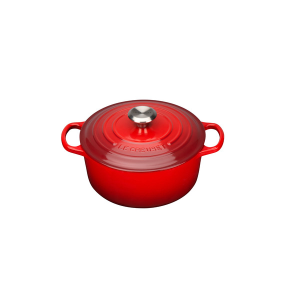 Fly Buys  Le Creuset Signature Round Casserole 24cm 410530aa58f0
