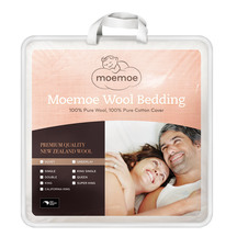 NZ Made Moemoe 100% Wool Duvet 300gsm - Everyday Weight