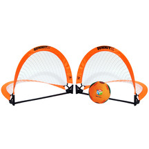 Summit Kids In Sport Twin Soccer Goal Set