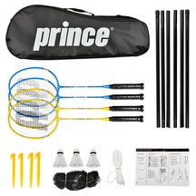 Prince Strike 4 Piece Badminton Kit