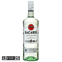 Bacardi Rum 1L