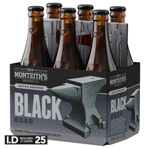 Monteith's Black 6 Pack Bottles
