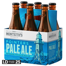 Monteith's Pointers Pale Ale 6 Pack Bottles 330ml