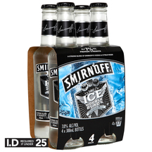Smirnoff Ice Double Black 4 Pack Bottles 300ml