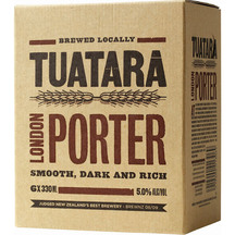 Tuatara Porter 6 Pack Bottles 330ml