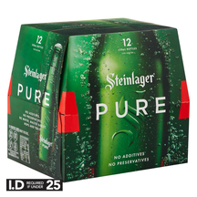 Steinlager Pure 12 Pack Bottles 330ml