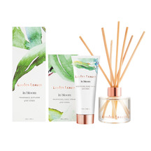 Linden leaves in bloom fragrance diffuser and hand cream set green verbena covegc 49899