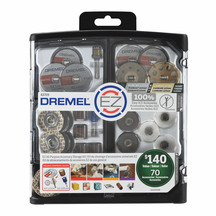 Dremel EZ725 70 Piece Accessory Set