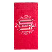 ROXY Pretty Simple Logo Towel
