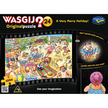 Wasgij Original # 24 1000pc Puzzle - A Very Merry Holiday!