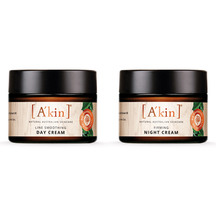 A'kin Age-Defy Night & Day Pack - 1 x Night Cream + 1 x D...