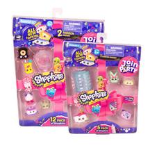 Shopkins Series 7 5 Pack & 12 Pack Bundle