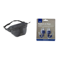 Lonely planet travel pack   waist pack and padlock hi res