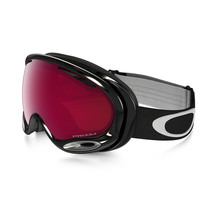 Oakley A-Frame 2.0 Jet Black with Prizm Rose Goggles