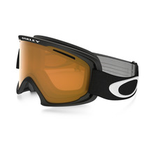 Oakley O2XL Matte Black with Persimmon Goggles