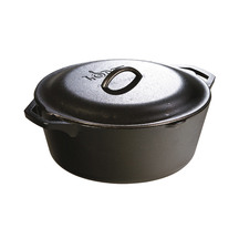 LODGE Cast Iron Dutch Oven  6.6L