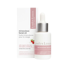 Linden leaves natural skincare miraculous facial oil 25ml