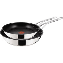 Jamie Oliver Premium Stainless Steel Frypan Twin Pack