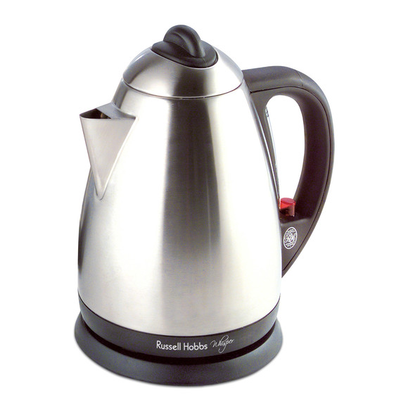 fly buys russell hobbs whisper quiet stainless steel kettle. Black Bedroom Furniture Sets. Home Design Ideas