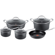 Jamie Oliver Premium Hard Anodised Induction 5 Piece Set