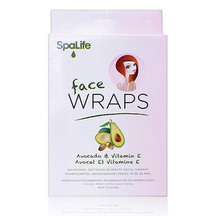 SpaLife - Pink Avocado and Vitamin E Facial Wrap 3 Pack