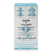 SpaLife -Three Step Facial Treatment with Collagen 3 Pack