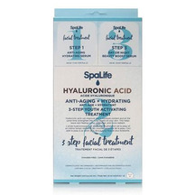 SpaLife -Three Step Facial Treatment with Hyaluronic Acid...