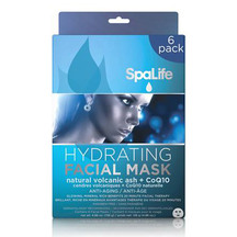 SpaLife - Hydrating Volcanic Ash & CoQ10 Facial Mask - 6 ...