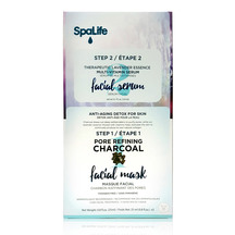 SpaLife - 2 Step Pore Refining Charcoal Facial Mask 3 Pack