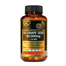 GO GrapeSeed 60000mg 120 VegeCaps