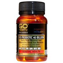 GO Probiotic 40B 30 Vegecaps
