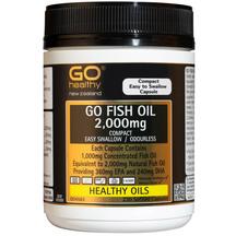 GO Fish Oil 2000mg 230 Caps