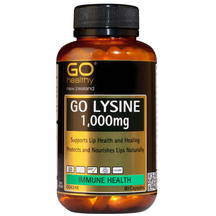 GO Lysine 1000mg 60 Caps