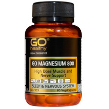 GO Magnesium 800  60 VegeCaps