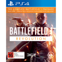 EA Battlefield 1 Revolution PS4