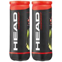 HEAD Championship 3B Tennis Balls 2 Tubes