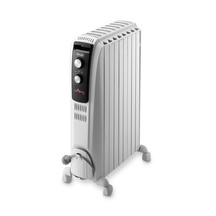 52708   delonghi 7 fin oil column heater with manual timer