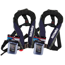 Hutchwilco Super Comfort Inflatable Lifejackets Twin Pack