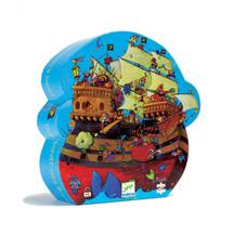 Djeco Barbarossa's Boat Silhoutte Puzzle