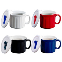 Corningware Pop Lid Mugs Set of Four