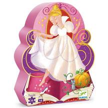 Djeco Silhouette Cinderella Puzzle
