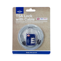 Lonely Planet Accessories - TSA Combination Lock Cable