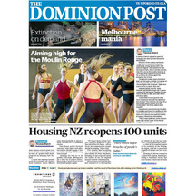 The dominion post cover