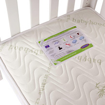 53667  babyhood my first breathe eze bamboo mattress
