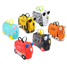 Trunki Ride-On Kid's Suitcase Animals