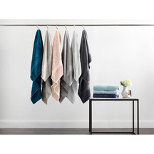 Luxury egyptian cotton colour group towels aw17